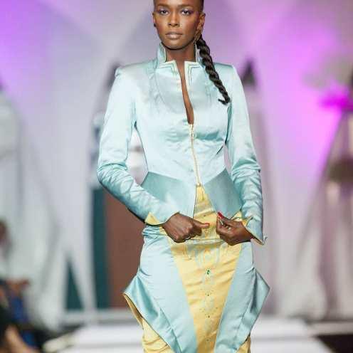 Desfile de la Dakar Fashion Week en 2018. Foto: Facebook oficial de la DFW.