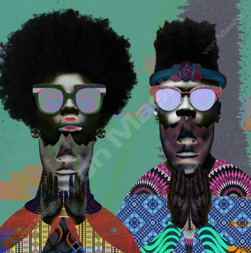 Queens and Kings (serie Afridelic)