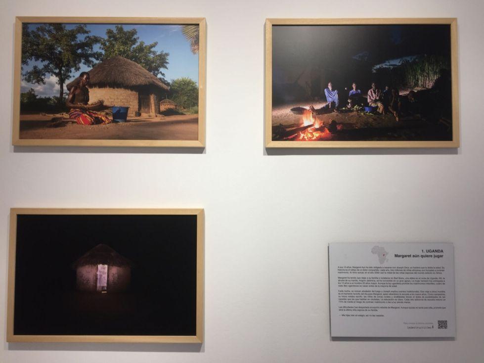 Detalle de la exposición Indestructibles. Foto: Alicia Justo.