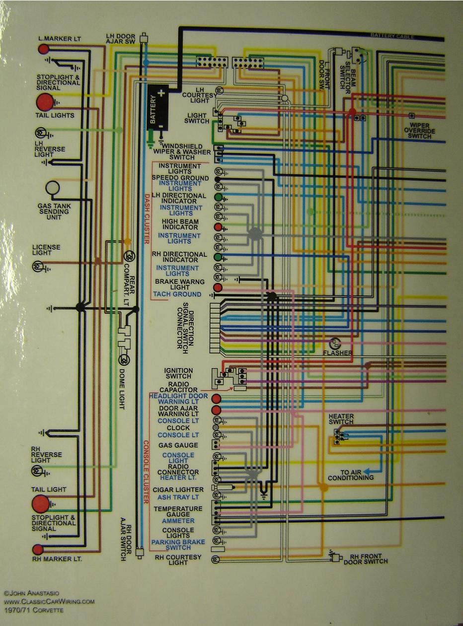 1967 Camaro Harness Diagram Instrument