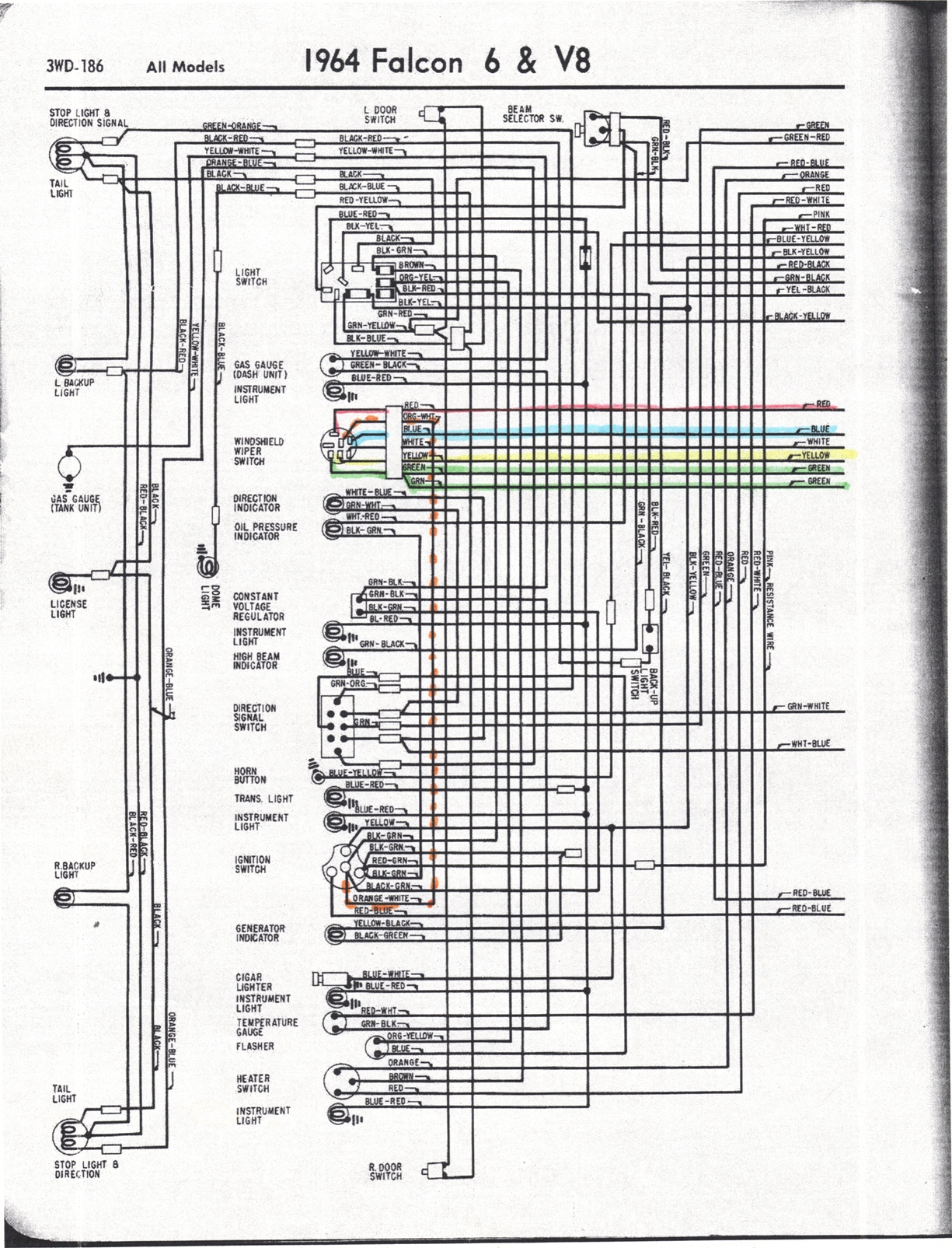 65 Ford Falcon Wiring Diagram