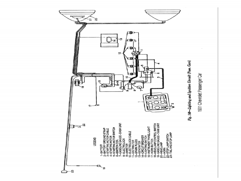 1935 ford ignition coil wiring diagram