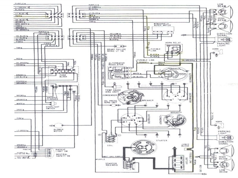 1969 Chevelle Cowl Induction Wiring Diagram
