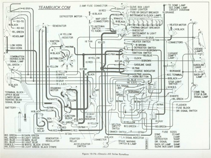 1955 Buick Wiring Diagram - Wiring Forums
