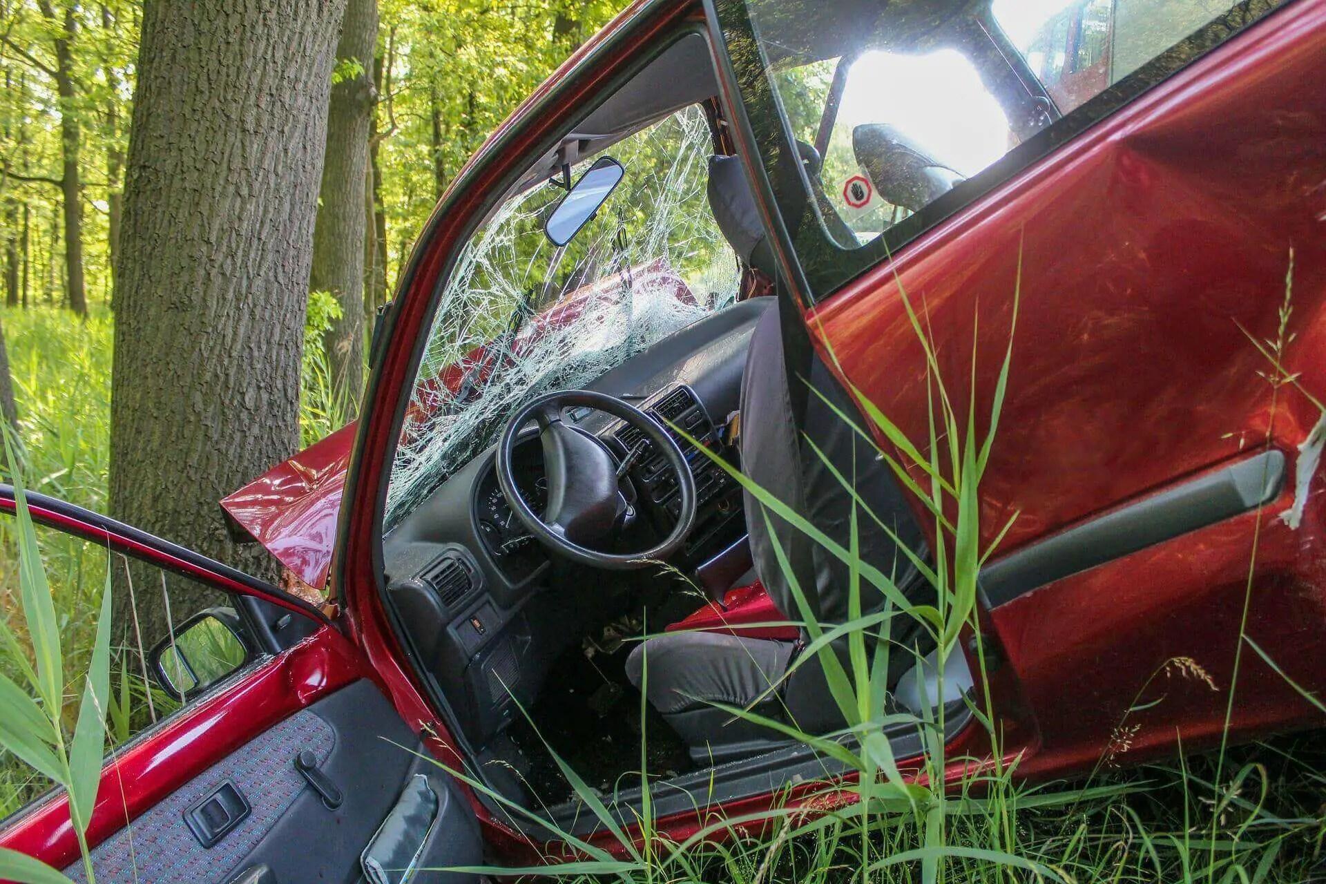 Verkehrsunfall mit einem Pkw