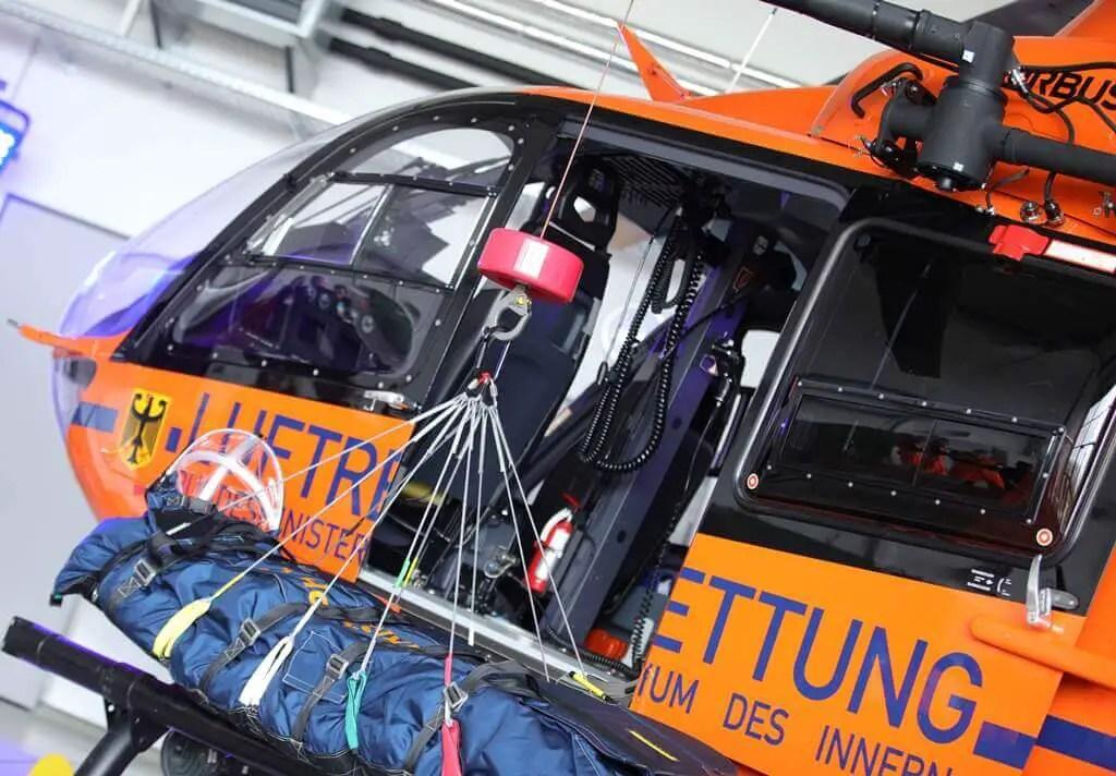 Neuer Hubschrauber für Christoph 17