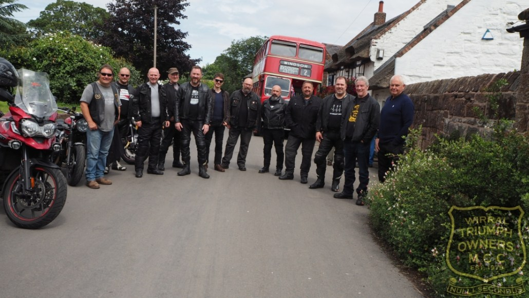 wirral triumph motorcycle club ride