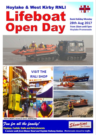 Lifeboat Open Day poster