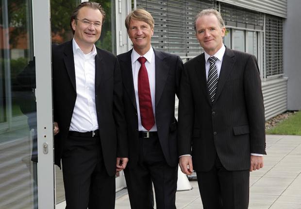 Vorstand der MODUS Consult AG v.l.n.r.: Martin Schildmacher, Gerd Elbrächter, Klaus Wagner. (Foto: MODUS Consult)
