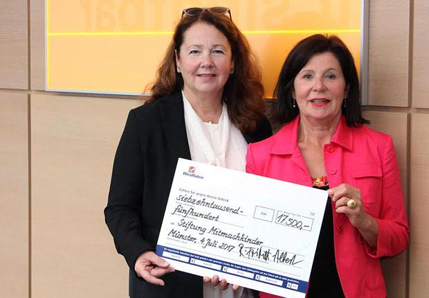 Westfalen Gruppe spendet 17.500 Euro