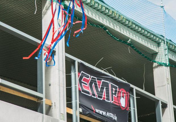 Es ist soweit: EMP feiert Richtfest.