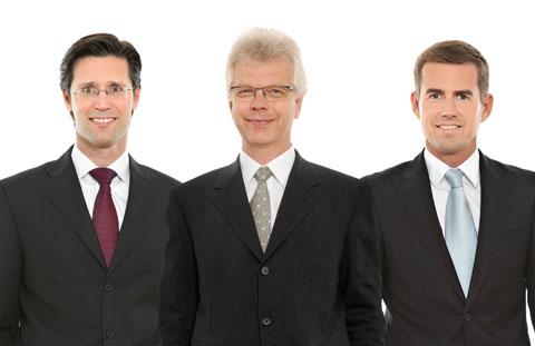 Urlesberger Franz, Madl Peter und Perner Roman