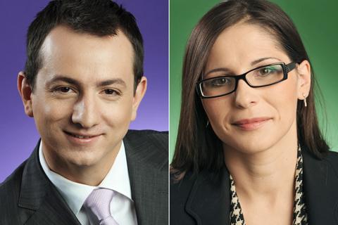 Ciprian Glodeanu und  Ileana Glodeanu