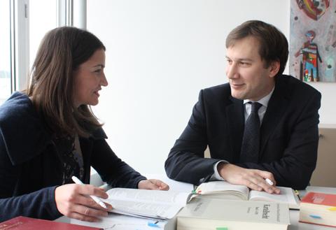 Iris Hammerschmid und Christian Mayer