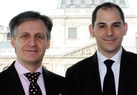 Stefan Artner und Daniel Richter