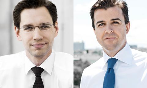 Florian Steinhart und Philipp Kinsky