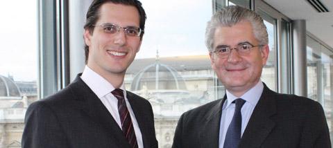 Christoph Brogyányi und Bernhard Rieder