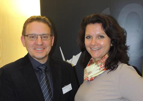 Gerald Goger und Katharina Müller