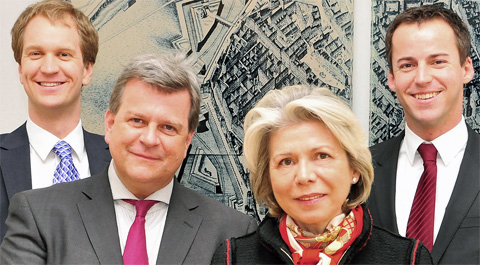 Christian Aichinger, Volker Glas, Edith Hlawati, Gernot Wilfing