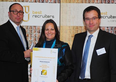 Preisverleihung an Österreichs beste Recruiter