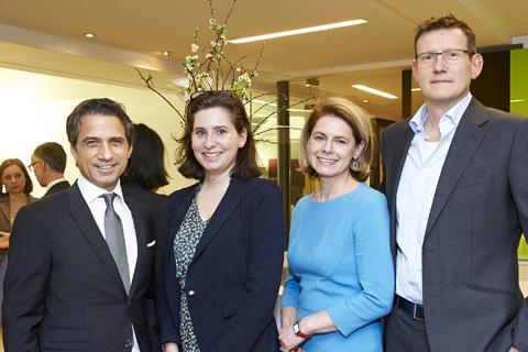Dr. Johannes P. Willheim, Mathilde Aureau, Mag. Katharina Oppitz, Dr. Hansjörg Schwartz