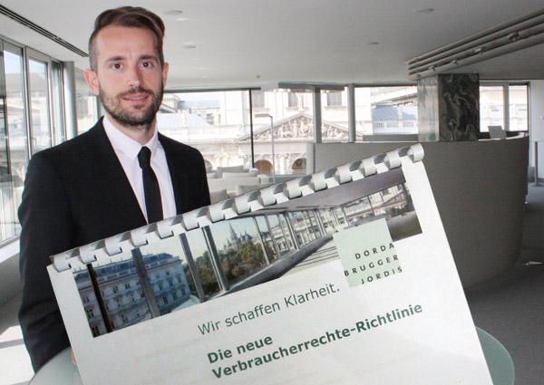 Axel Anderl klärte über die neue Verbraucherrechte-Richtlinie auf