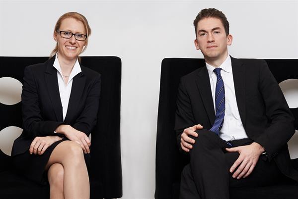 Sabine Prossinger und Moritz Keller