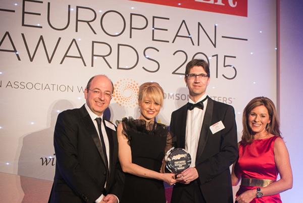 Laura T. Struc (Slowenien) und Luka Tadic-Colic (Kroatien) in London