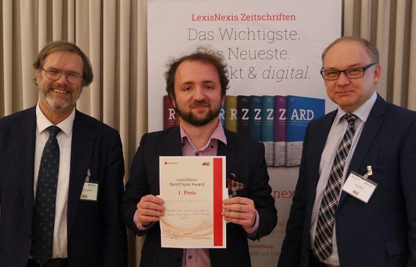 Der Preis für die beste Arbeit geht an Michał Araszkiewicz