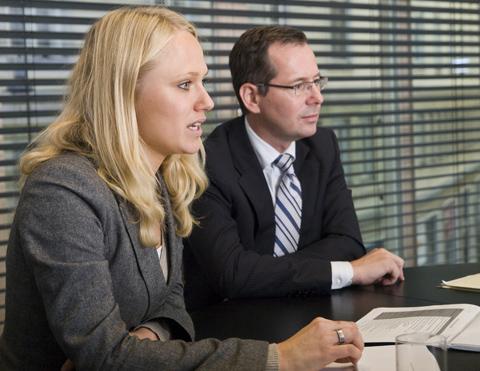 Horst Lukanec und Angelika Pallwein-Prettner, beide Partner bei Binder Grösswang