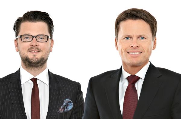 Thomas Kulnigg und Sascha Hödl
