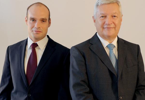 Anton Fischer und Hannes Füreder