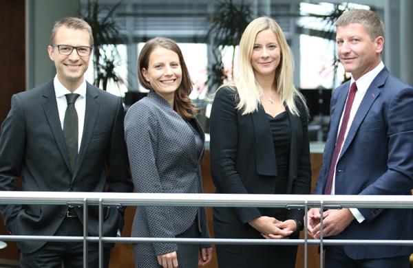 Wolfram Huber, Annika Wolf, Julia Peier, Stefan Prochaska