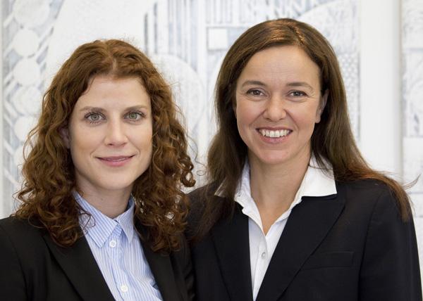 Anita Lukaschek kommt von Bundeswettbewerbsbehörde, Katerina Schenkova von CHSH