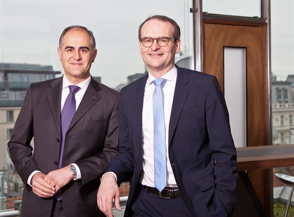 Dr. Farid Sigari-Majd und Dr. Stephan Denk