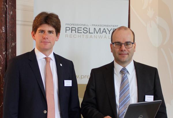 Datenschutzrechtsexperten: Dr. Gerald Trieb und Dr. Rainer Knyrim