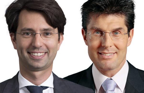 Michael Lind und Günther Bauer
