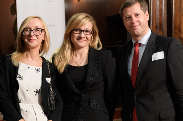 Anna Pogrebna (Local Partner), Maria Orlyk (Local Partner), Johannes Trenkwalder (Managing Partner)