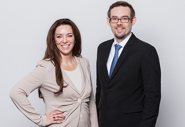 Simone Petsche-Demmel und Andreas Pollak