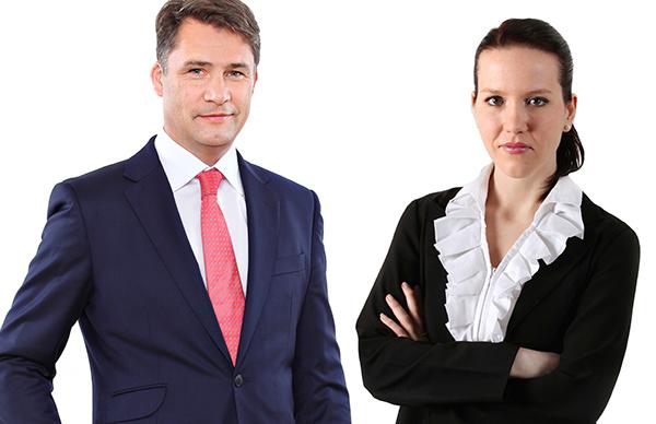 Michael Lagler und Soňa Hekelová