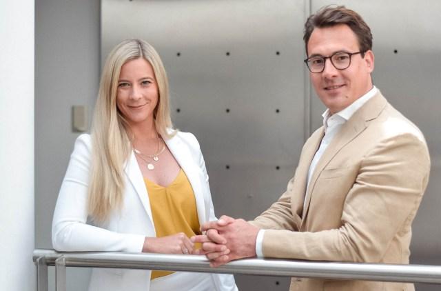 Julia Fritz und Rainer Kaspar, beide neue Managing Partner bei PHH Rechtsanwälte
