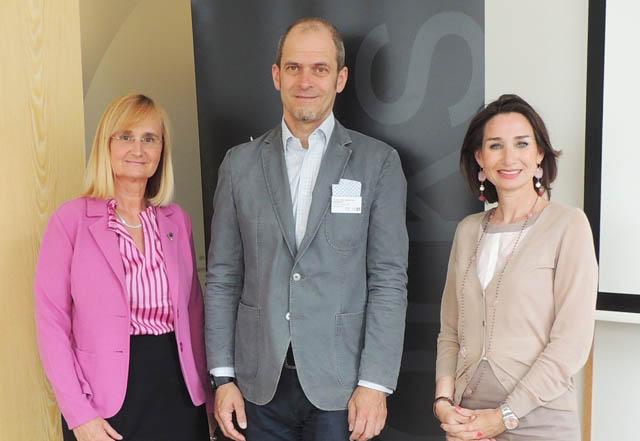 Dr. Manuela Maurer-Kollenz, FH-Doz. Mag. Christoph Kothbauer und RA Mag. Simone Maier-Hülle