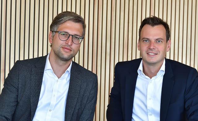 Fritz Ecker und Christian Pindeus