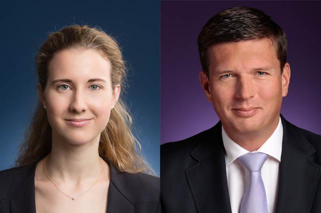Clara Gordon und Dieter Spranz