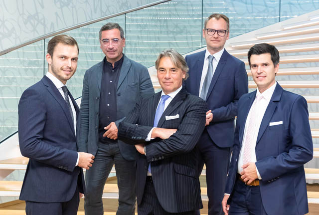 Mag. Simon Tucek, Dipl.-Ing. Norbert Rabl, Dr. Georg Seebacher, Ing. Mag. Harald Kraus, MMag. Marco Riegler