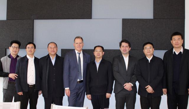 Delegation der China Law Society mit Hannes Jarolim und Martin Kollar