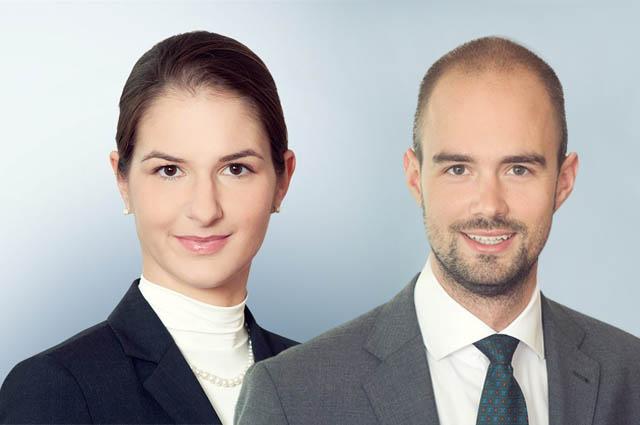 Julia Harant und Leonhard Prasser