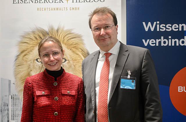 Dr. Jana Eichmeyer und Mag. Mario Spanyi
