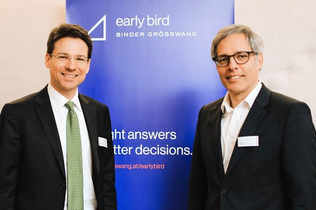 Christian Wimpissinger und Johannes Barpist