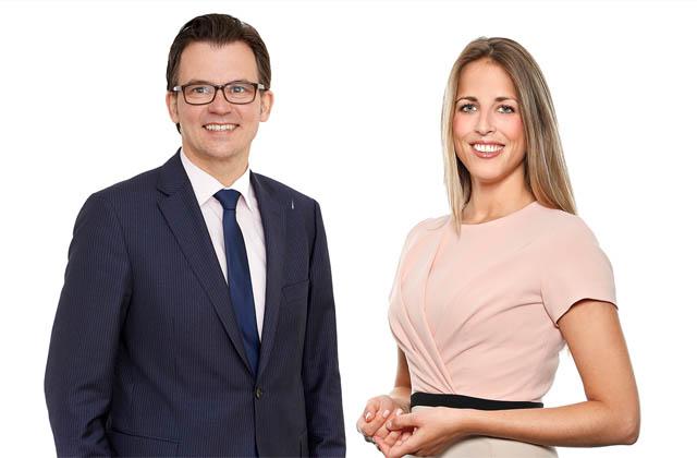 Stefan Kühteubl und Teresa Waidmann